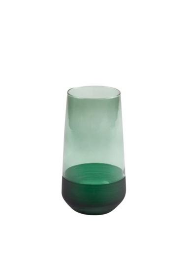 Galeri Kristal Matte Yeşil 6'Lı Uzun Bardak 470Cc Yeşil
